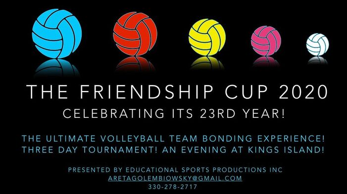 The Friendship Cup Educational Sports Productions Inc Presents Volleyball Leagues Summer Volleyball Camps The Friendship Cup